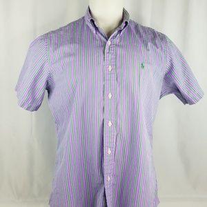 Ralph Lauren mens size Large striped shirt.